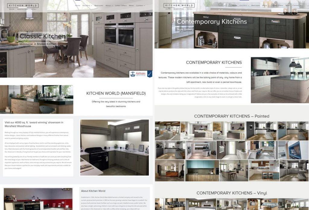 Kitchen World Mansfield Ltd