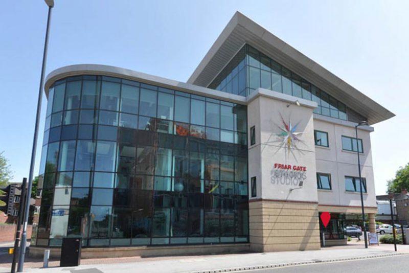 Web design office in Derby